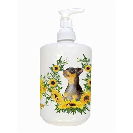 Carolines Treasures CK2916SOAP Miniature Pinscher No.2 Ceramic Soap Dispenser - image 1 of 1