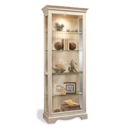 Color Time Ambience Lighted Curio Display Cabinet