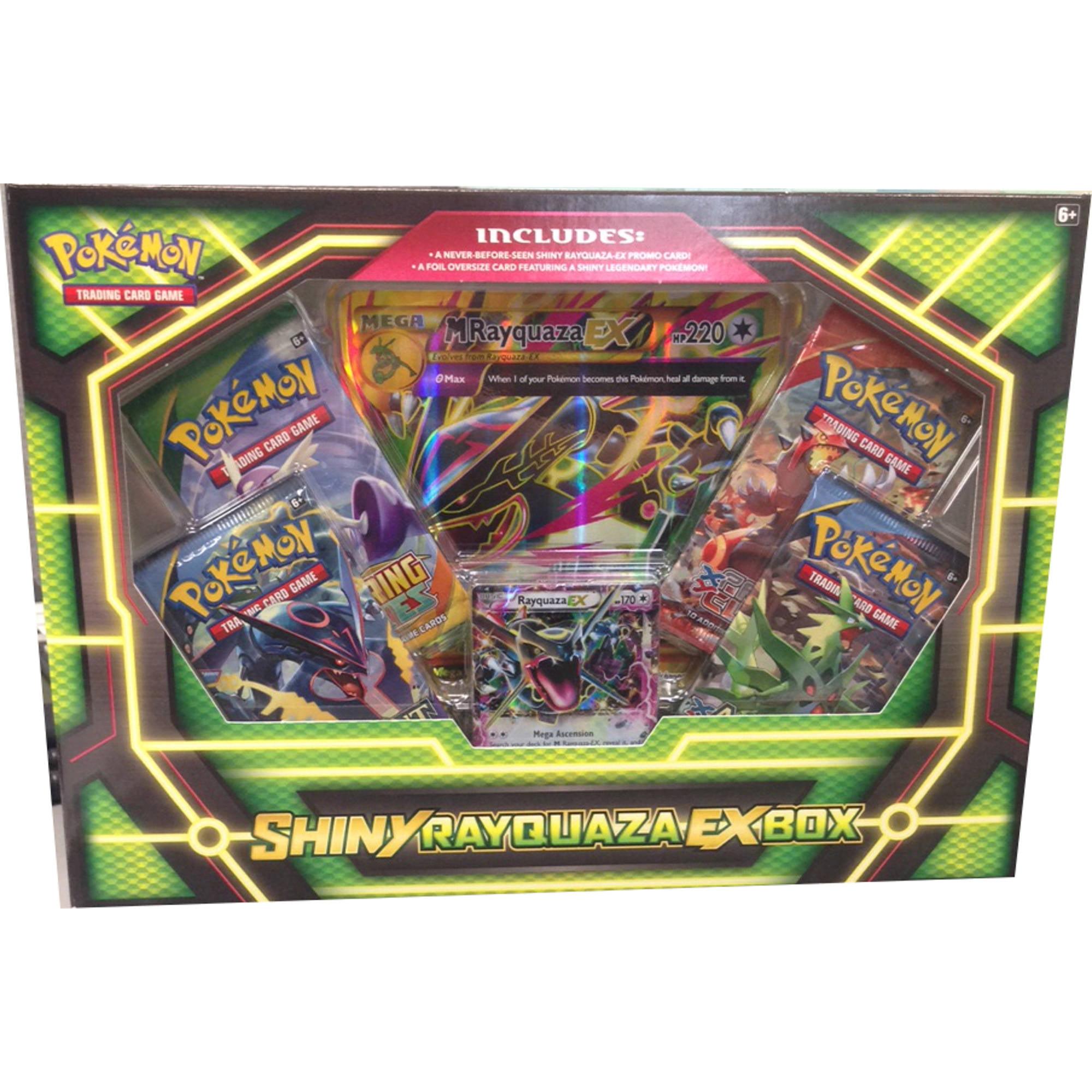 Pokemon Shiny Rayquaza Ex Box - Walmart.com