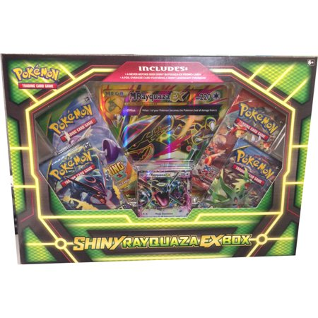 Ex Deoxys Pokemon Card - Pokemon Shiny Rayquaza Ex Box
