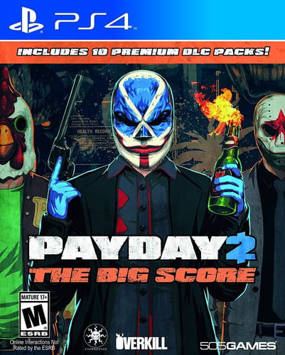 Payday 2: The Big Score for PlayStation 4 by 505 Games