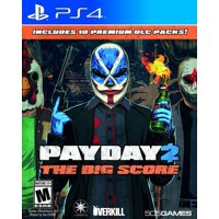 Payday 2: The Big Score, 505 Games, PlayStation 4, 812872019024