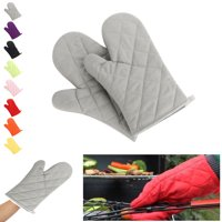 2 Pcs Oven Gloves,Baking Gloves,Microwave Gloves,Cooking Oven Mitts Heat Gloves