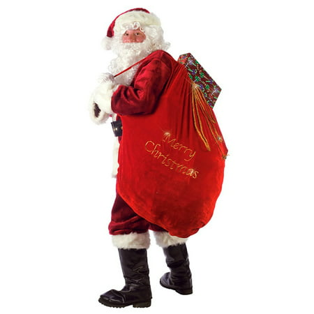 Santa Sack Adult Costume Accessory (Cute Santa Girl Costumes)
