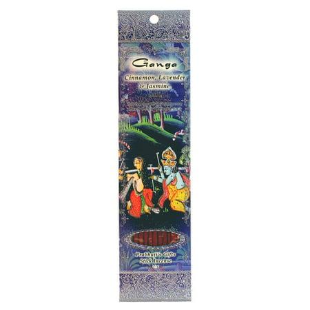 Incense Sticks Ganga - Cinnamon, Lavender, and (Cinnamon Incense)