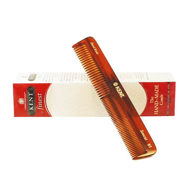 Kent The Hand Made Comb Coarse/fine 6.5 Inches Comb 5t for Men by Kent