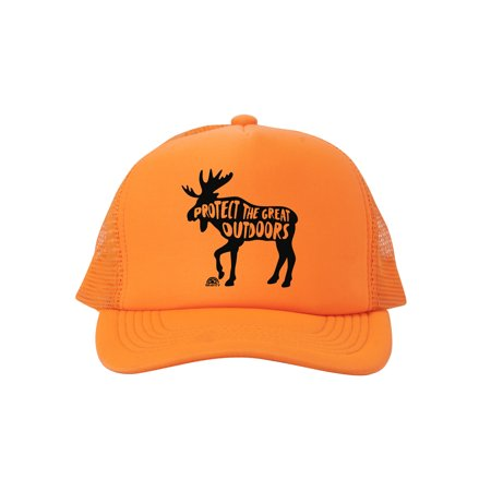 70b588a419029 Gravity Outdoor Co. - Protect the Great Outdoors Moose Trucker Hat ...
