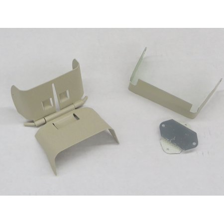 Downspout Extension Flip-Up Hinge for 3x4 B Style (3X4 B, WICKER) ()