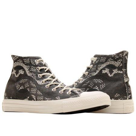 Converse Chuck Taylor All Star Reptile Hi Black Women's Sneakers 547253F