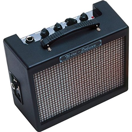 Classical Electric Amps (Fender Mini Deluxe Electric Guitar Amp, Enjoy pure portability from a petite sized amp packing a 1 watt punch. By Fender Mini Amps)
