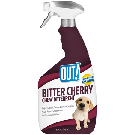 OUT! Bitter Cherry Dog Chew Deterrent, 32 oz (Best Chew Deterrent For Dogs)