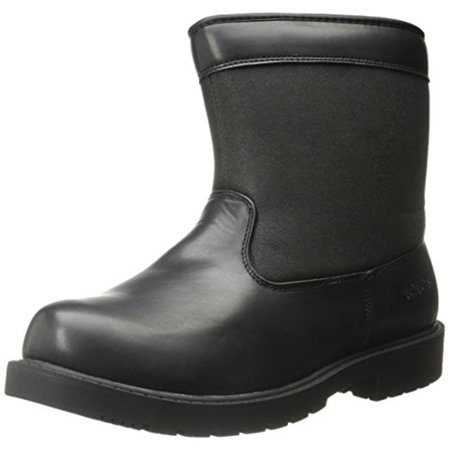 Totes Mens Jason Faux Leather Waterproof Snow Boots