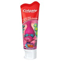 Colgate Kids Toothpaste with Anticavity Fluoride, Trolls™, 4.6 ounces