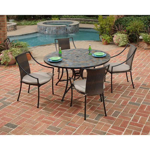 Home Styles Stone Harbor 5-Piece Outdoor Dining Set