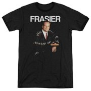Cheers Frasier Mens Adult Heather Ringer Shirt
