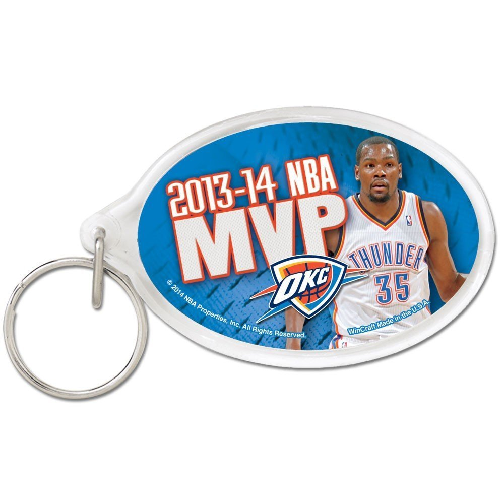 Oklahoma City Thunder Official NBA 2 inch  Key Chain Keychain by WinCraft
