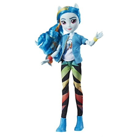 My Little Pony Equestria Girls Rainbow Dash Classic Style (My Little Pony Dj Pon 3 Doll)