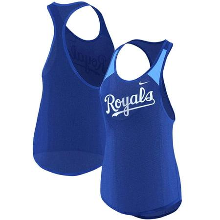 Kansas City Royals Nike Women's Wordmark Legend Tank Top - Royal