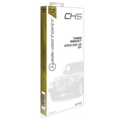 Omega Car Electronics OLADSTHRCH5 T-harness For Olrsba [ch5] Factory Fit Install; Select Chrylser '05 And Up Standard Key