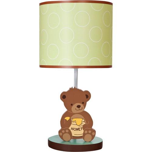 Lambs & Ivy Bedtime Originals Honey Bear Lamp with Shade and Bulb by Lambs %26 Ivy
