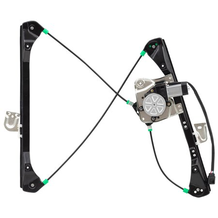 - BROCK Power Window Lift Regulator with Motor Assembly Driver Front Replacement for 99-05 Pontiac Grand Am Sedan Oldsmobile Alero Sedan 22702137