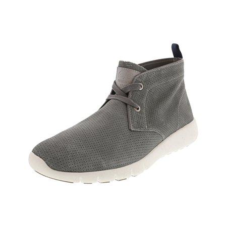 Sale Grey Walking Shoes - Gbx Men's Amaro Grey Ankle-High Leather Walking Shoe - 8M