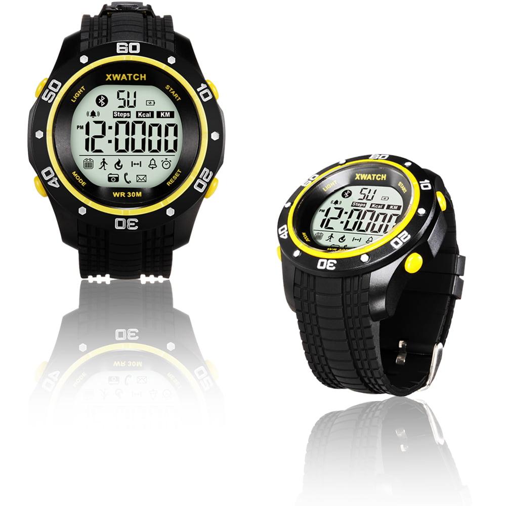 inDigi Rugged Sports Waterproof Bluetooth 4.0 X-Watch w/ ...