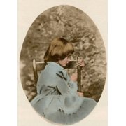 Alice Liddell Alices Adventures in Wonderland Stretched Canvas - Science Source (24 x 36)