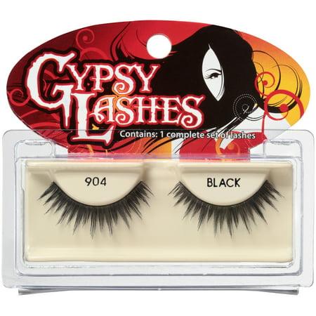 (4 Pack) Gypsy Black False - Black False Lashes