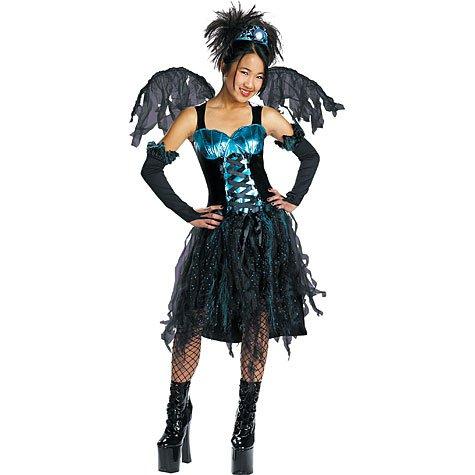 Aqua Fairy Costume - Kids/teen Costume - Large - Large