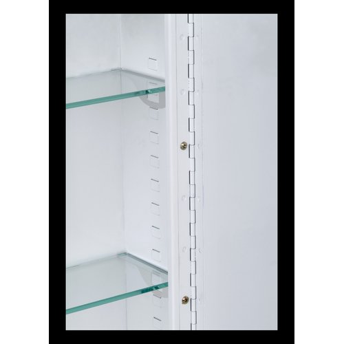 Ebern Designs Fairbanks 18'' x 36'' Surface Mount Medicine Cabinet by