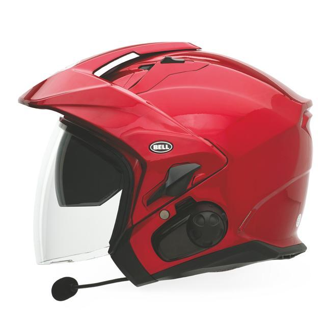 Bell Powersports Mag-9 Open Face Helmet Solid Colors Candy Red Lg  7000732