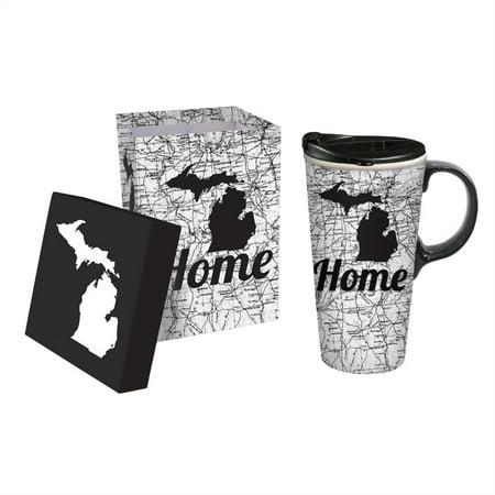 Ceramic Perfect Cup, 17 oz., Michigan