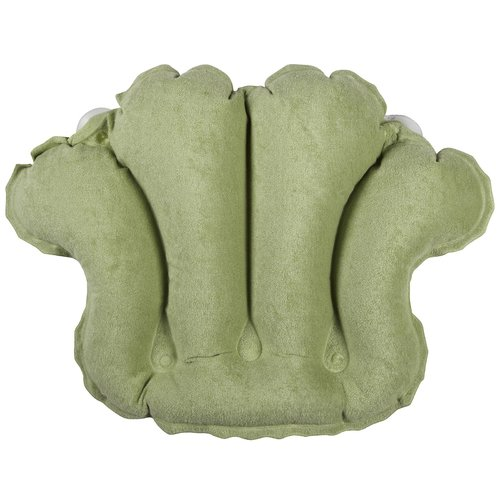 Beautiful Living Healthy Products 31012CS Terry Bath Pillow In Celery