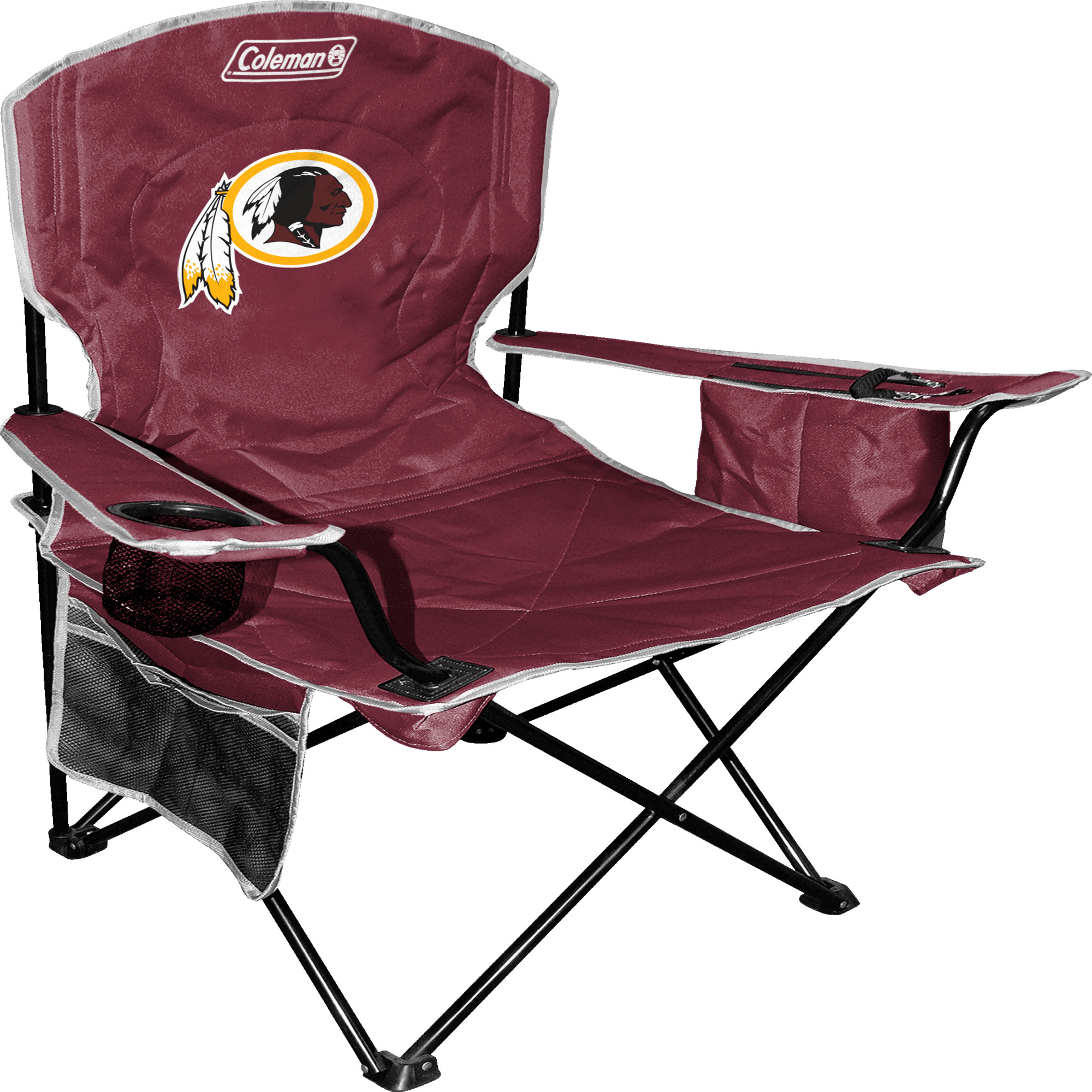 Coleman - NFL XL Cooler Quad Chair, Washington Redskins