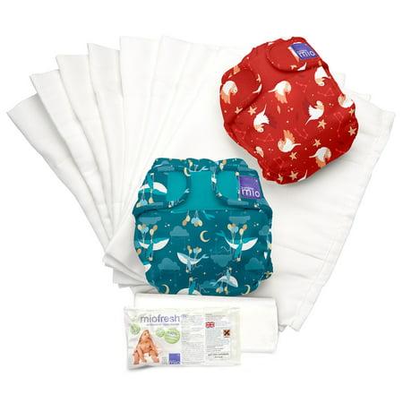 - Miosoft Diaper Set, Dream Traveler B, Size 1 <20Lbs