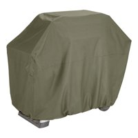 """Better Homes & Gardens Hillberge 64"""" Outdoor Grill Cover in Olive Gray, Large"""