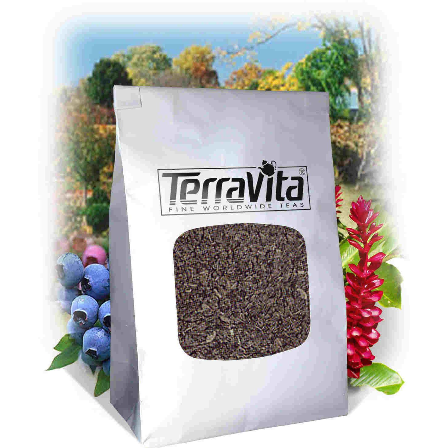 Psoriasis Formula Tea (Loose) Saffron and Mullein (4 oz, ZIN: 513984) by TerraVita