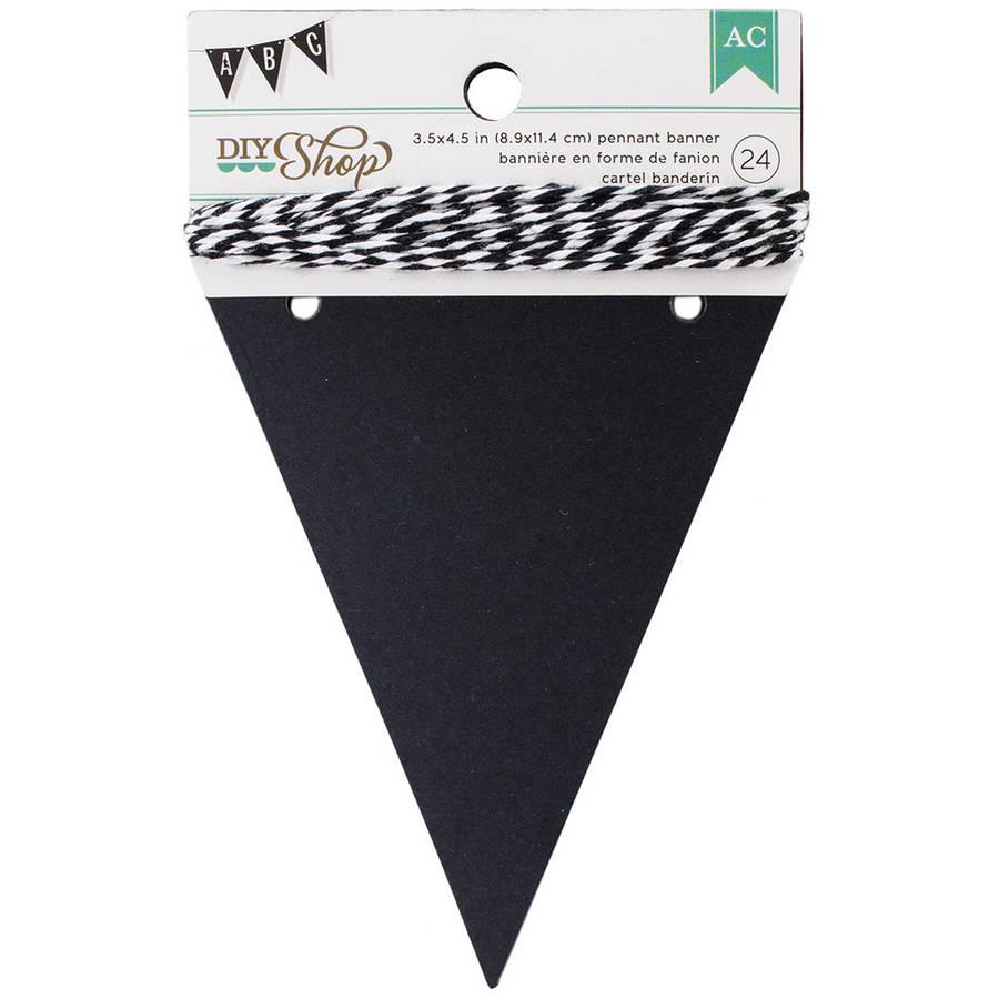 DIY Shop Banner, 24pcs with String
