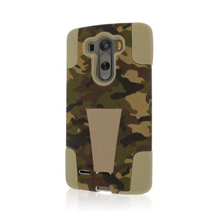 LG G3 Case, Impact X Kickstand Protection, Hunter Camo
