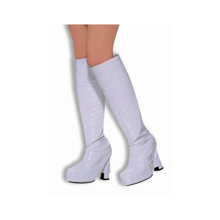GO-GO BOOT TOPS-WHITE