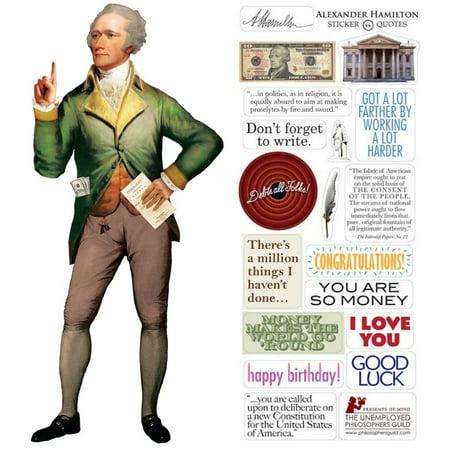 Stationery - Hamilton - Card and Sticker Sheet New 4940 - image 2 de 2