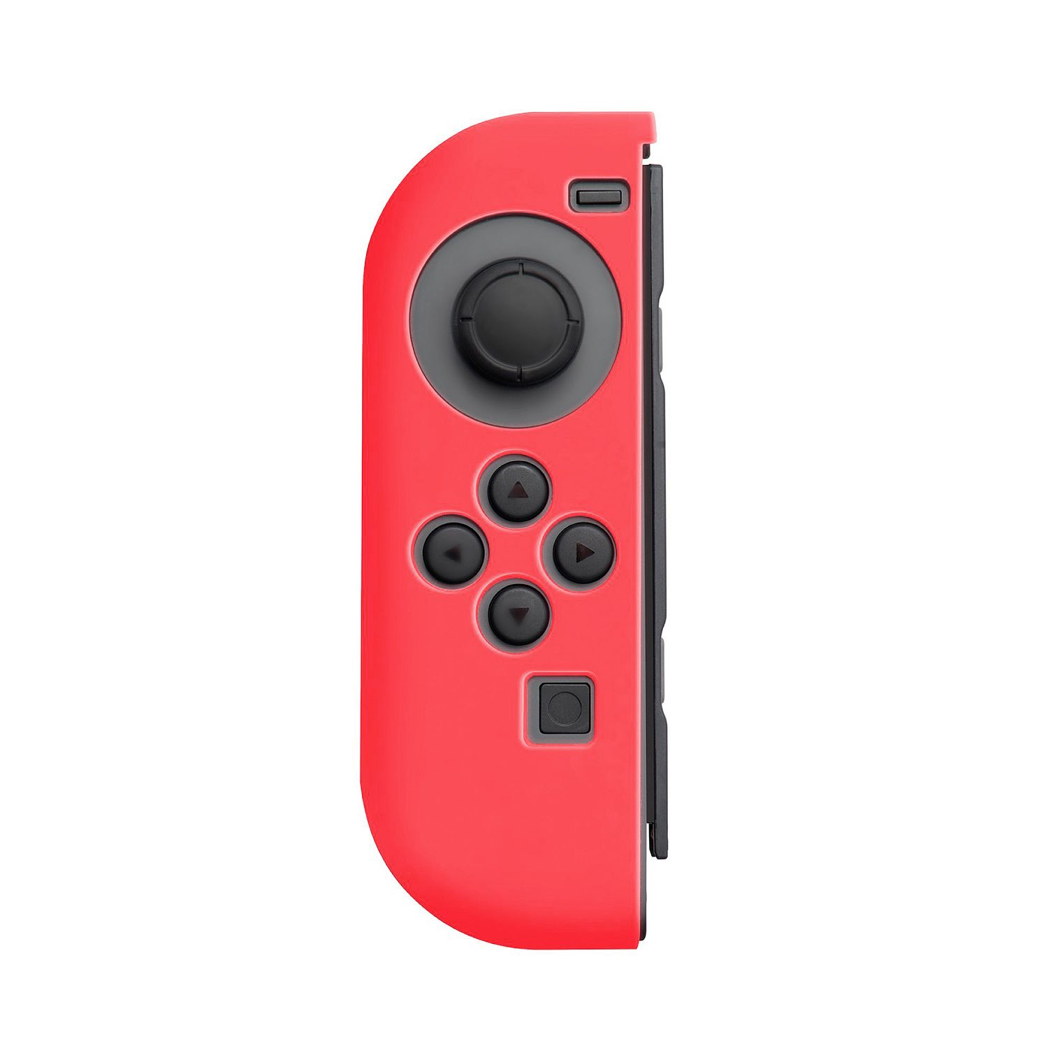 Nintendo Switch Joy-Con case, by Insten (Left RED + Right BLACK) Nintendo Switch Joy-Con Skin Case Protective Cover For Nintendo Switch Joy Con Left/Right Controller [2017 New Release] - image 2 of 3