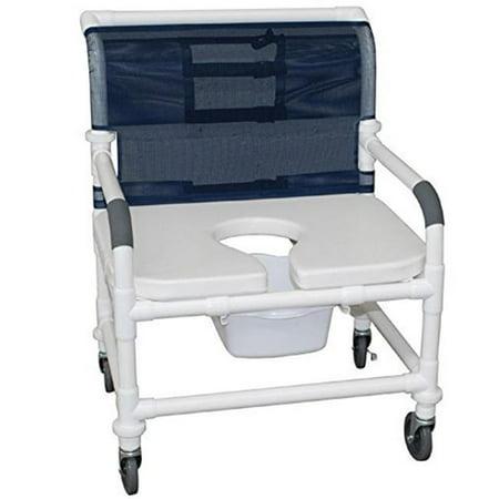 Mjm International 126 4 Nb Fsss Extra Wide Shower Chair 26 In