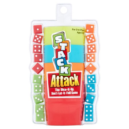 Stack Attack The Dice It Up  Dont Let It Fall Game Ages 8   Up