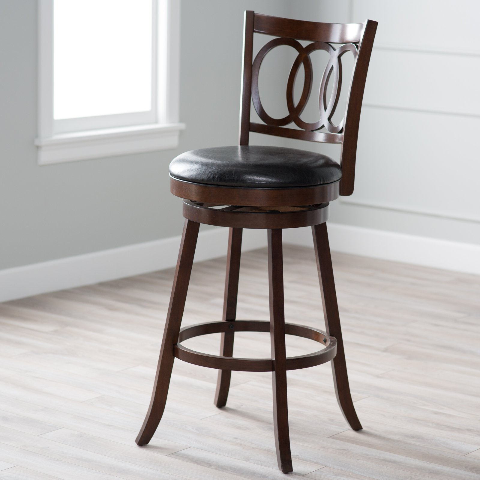 belham living woodward extratall swivel bar stool
