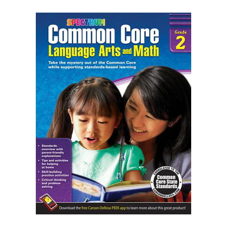 Common Core Language Arts and Math, Grade 2 (Two Languages)