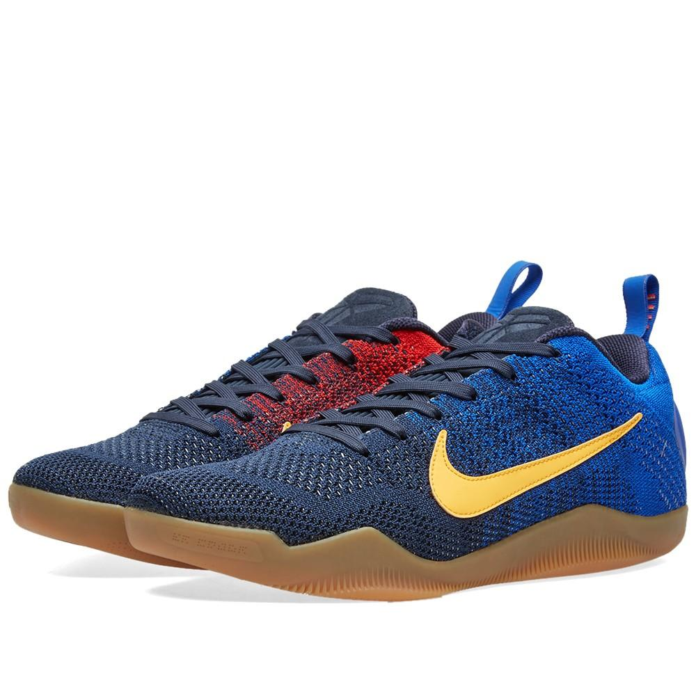 online retailer f17ff 5581a ... top quality kobe 11 elite low mambacurial barcelona 844130 464 26ef4  703b3