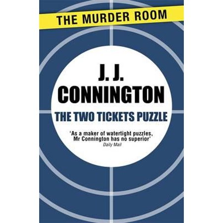 The Two Tickets Puzzle - eBook (Fiction Halloween Tickets)