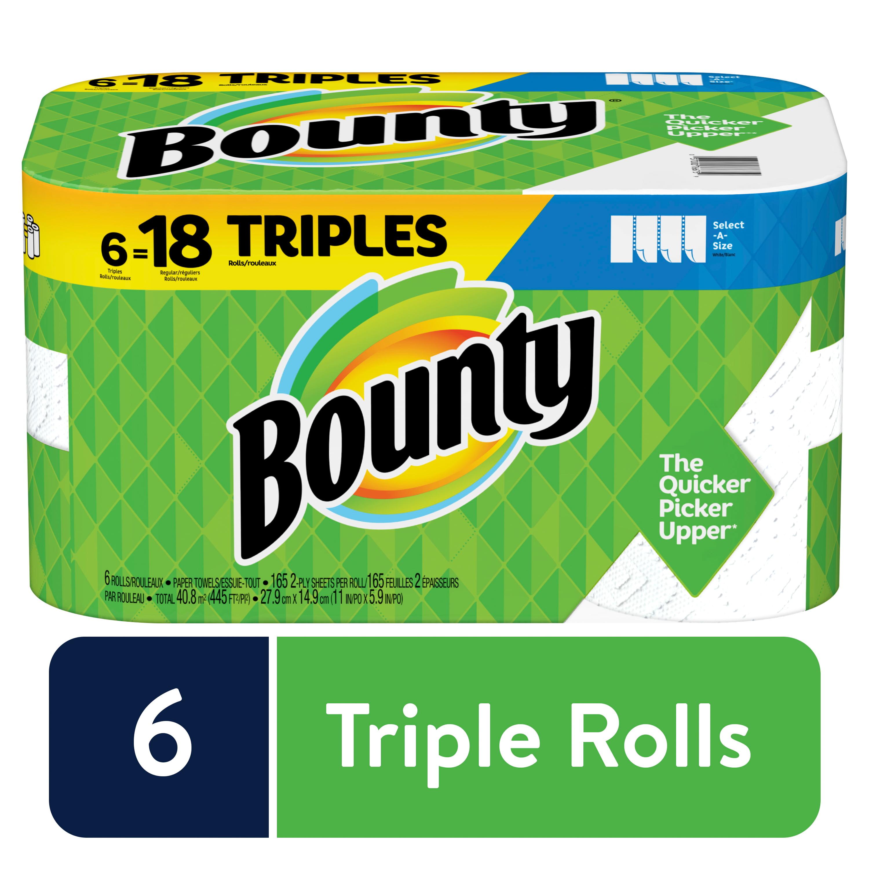24 Huge Rolls Bounty  Paper Towels